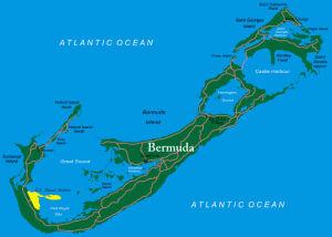 Bermuda Karte