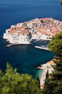 Dubrovnik im Sonnenschein