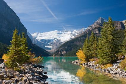 Das Land Kanada kann sich mit seiner Landschaft im internationalen Vergleich sehen lassen