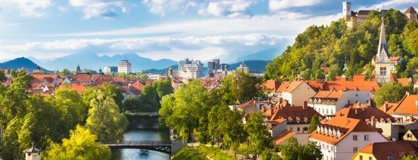 Ljubljana – Die grüne Seite Europas