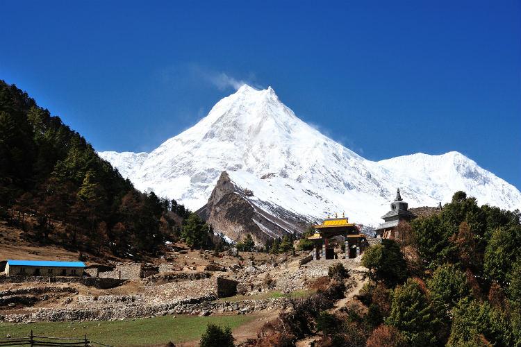 Nepal Sehenwürdigkeiten - Mt Manaslu
