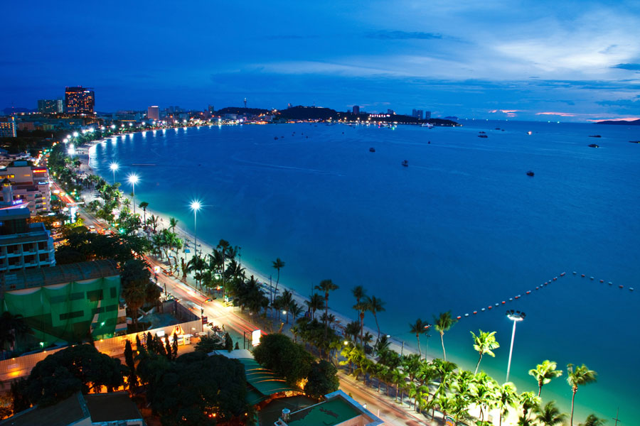 Pattaya Strand & Stadt 2014