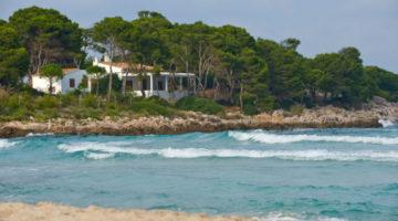 Eine Finca am Strand von Mallorca