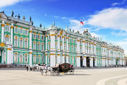 Ein Teil der Eremitage in St. Petersburg
