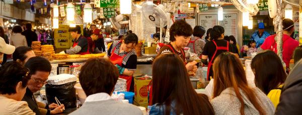 Auf der Suche nach dem besten Street Food: Seoul