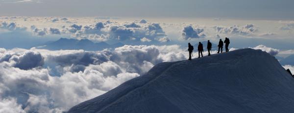 Bergsteigen für Anfänger : Reiseziele für Einsteiger