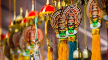 Kathakali Tanzform in Kerala