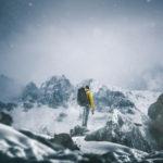 Winterwanderungen im Schnee