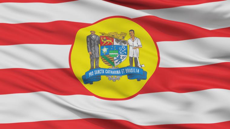 Blumenau Flagge
