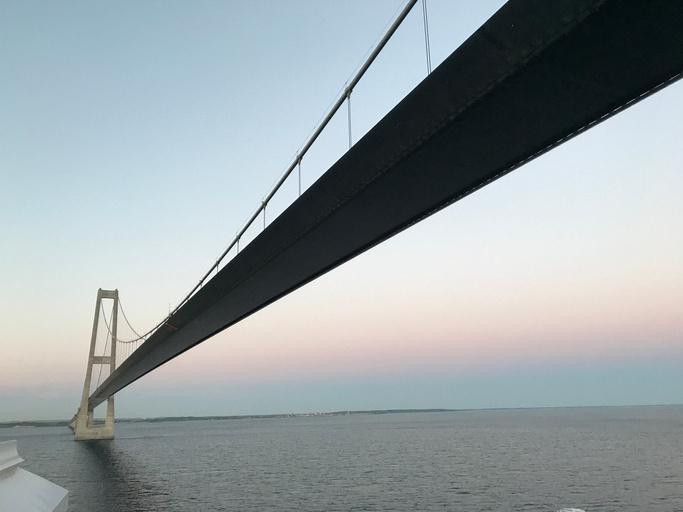 Storebæltsbroen - gewaltiger Brückenbau in Dänemark