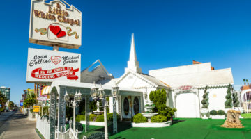 Hochzeitskapelle in Las Vegas