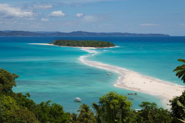 Insel in Madagaskar