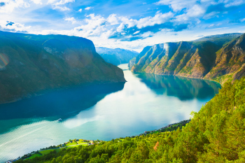 Norwegen Natur-Fjord Sognefjord