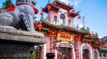 Tempel in Hanoi