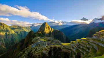 Panorama des Machu Picchu