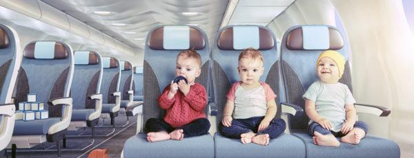 Fliegen mit Baby: Worauf es zu achten gilt