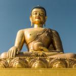 Thimphu - Bhutans Hauptstadt in den Wolken