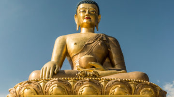 Buddha Statue in Gold