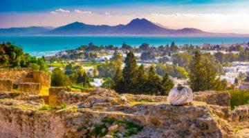 Blick vom Hügel Byrsa