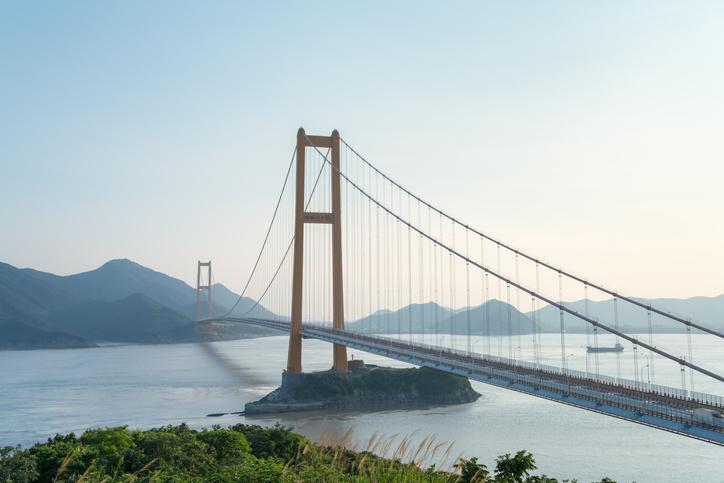 Die Xihoumen-Brücke - atemberaubende Brückenkonstruktion in China