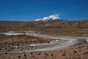 Der aktivste Vulkan der Anden