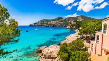 Schöne Aussicht in Mallorca