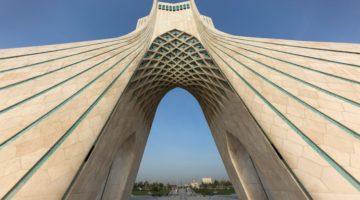 Der Azaditurm in Tehran