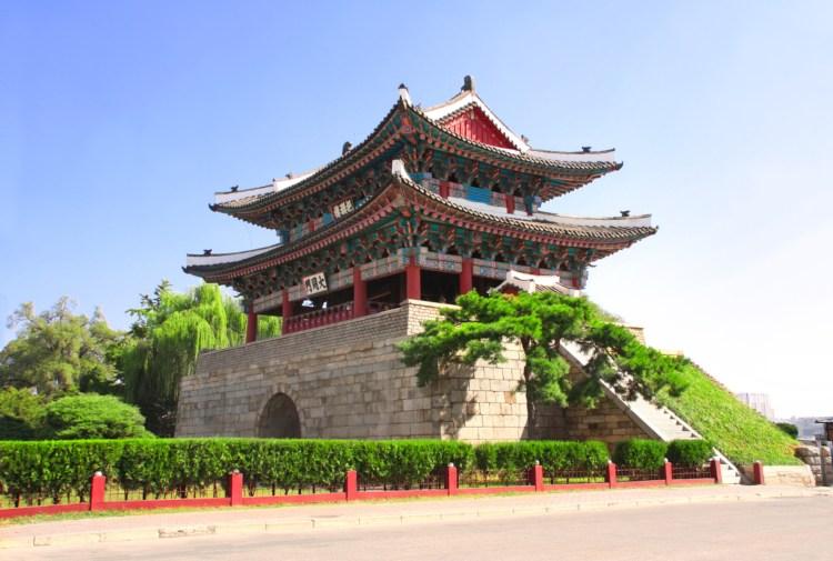 Tempel in Pjöngjang