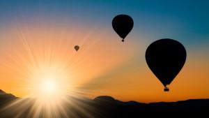 Heißluftballonfahrt im Harz