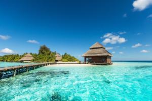 Strandvillen Malediven
